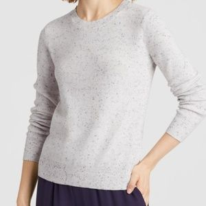 Eileen Fisher Womens Speckled Sweater Top